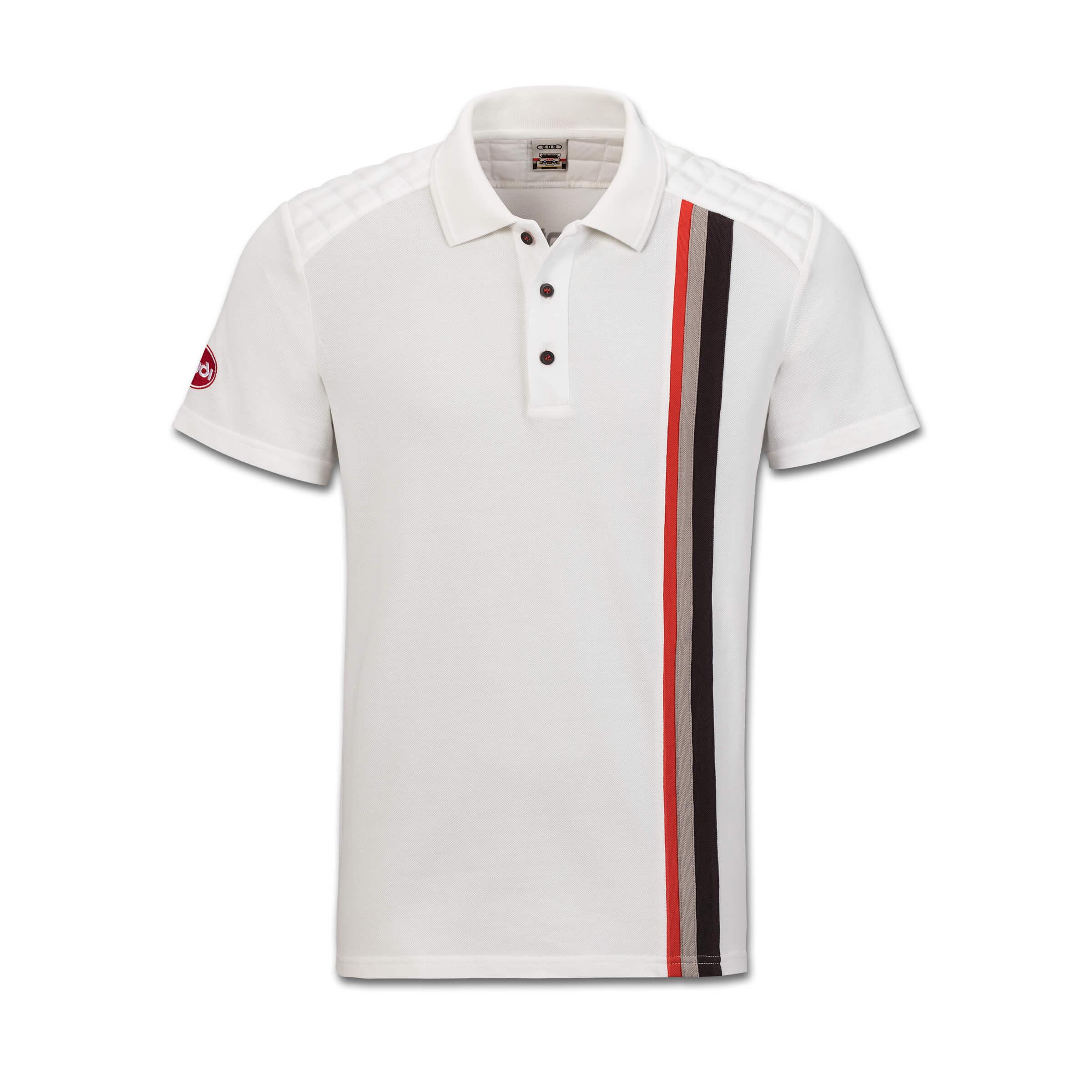 Audi originales deporte GmbH Heritage camiseta polo señores offwhite S M L XL XXL