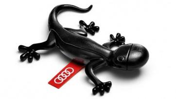 Original Audi Duftgecko schwarz würzig Duftrichtung Duftspender