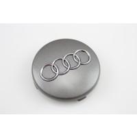 Original Audi grau metallic Radzierkappe Felgendeckel Nabendeckel 4B0601170 7ZJ