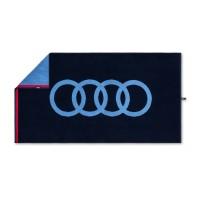 Original Audi Handtuch, dunkelblau, 80x150cm