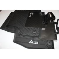 Original Audi Allwettermatten Audi A3 8V Set 4-teilig