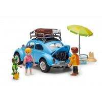 Original VW Playmobil Käfer blau , Heritage Kollektion
