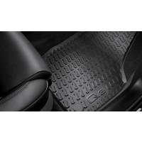 Original Audi Q3 Gummifußmatten, vorne 8U1061501 041