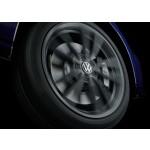 Original Volkswagen Nabenkappe für LM-Felge dynamisch mit neuem VW Logo