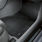 Original Audi A7 (4G) Gummifußmatten, vorne