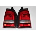 Original VW T5 Facelift Rückleuchten abgedunkelt