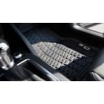 Original Audi Q2 Gummifußmatten, vorne