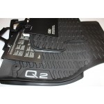 Original Audi Allwettermatten Audi Q2 Set 4-teilig