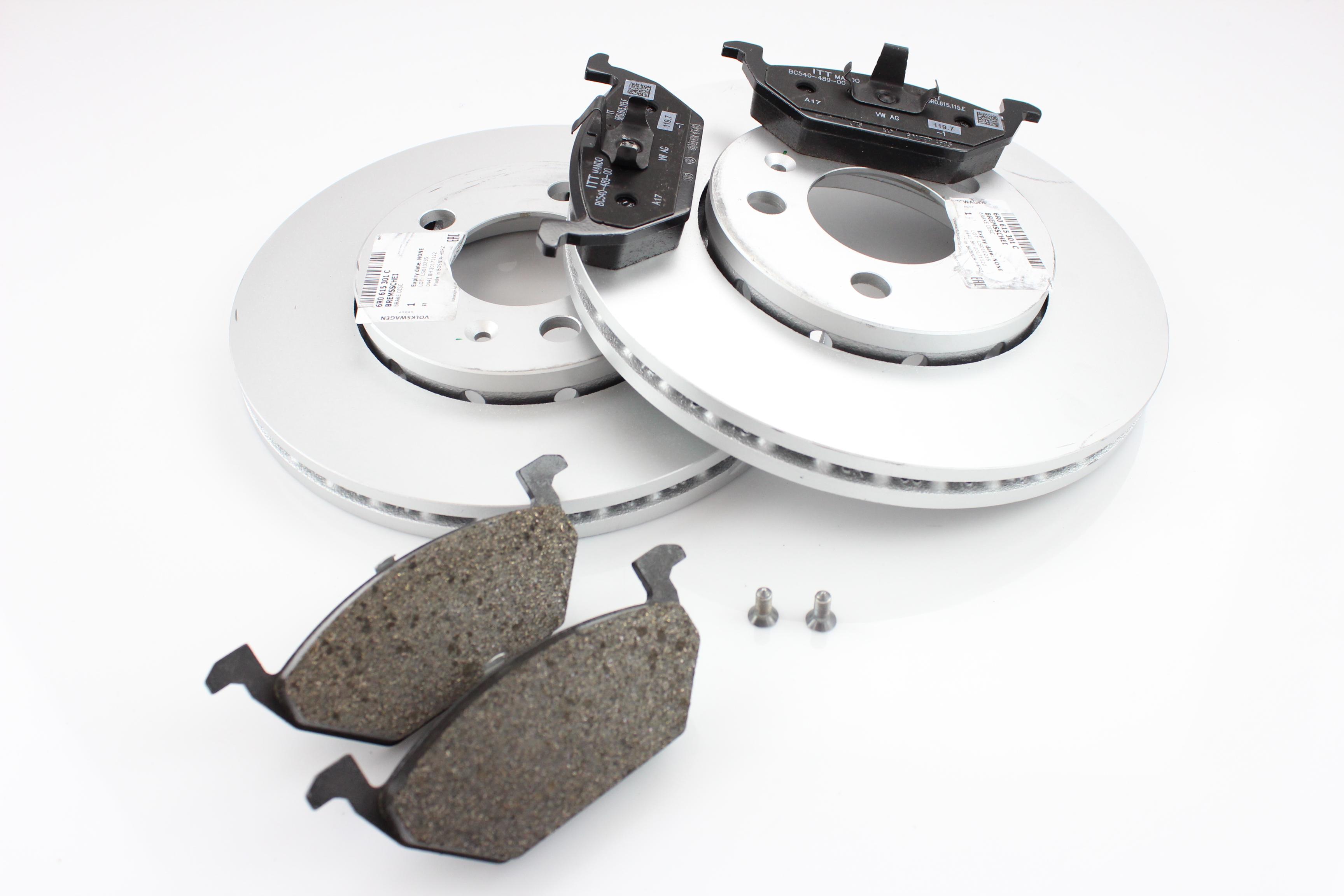 Bremsenteile 288x25mm PR.N Bremsscheiben & Bremsbelge Original ...